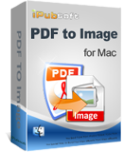 iPubsoft PDF to Image Converter for Mac