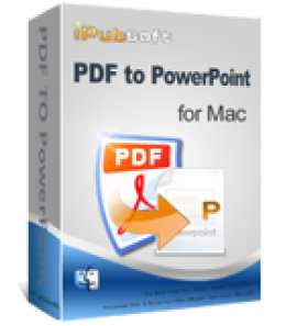 iPubsoft PDF to PowerPoint Converter for Mac