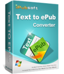 iPubsoft Text to ePub Converter