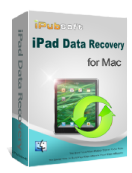 iPubsoft iPad Data Recovery for Mac