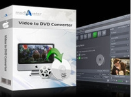 mediAvatar Video to DVD Converter for Mac